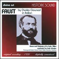 Charles Gounod: Faust - Adolfo Pacini (vocals); Fernando Autori (vocals); Gemma Bosini (vocals); Gilda Timitz (vocals); Giuliano Romagnoli (vocals);...