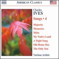 Charles Ives: Songs, Vol. 4 - David Pittsinger (bass); Douglas Dickson (piano); Enrico Sartori (flute); Eric Trudel (piano); Ian Howell (counter tenor);...