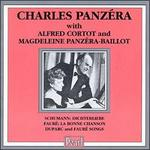 Charles Panz�ra with Alfred Cortot and Magdeleine Panz�ra-Baillot