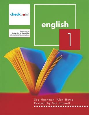 Checkpoint English: v. 1 - Howe, Alan, and Hackman, Sue, and Bonnett, Sue (Revised by)