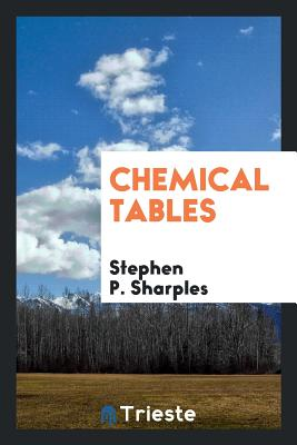 Chemical Tables - Sharples, Stephen P