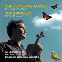 Chen, He: The Butterfly Lovers Concerto for Violin; Tchaikovsky: Violin Concerto, Op. 35 - Gil Shaham (violin); Gulia Mashurova (harp); Nella Hunkins (cello); Ta Jin (flute); Singapore Symphony Orchestra;...