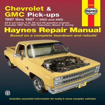 Chevrolet and GMC Pick-Ups Automotive Repair - Haynes, John, and Strasman, Peter G, and Warren, Larry