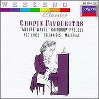 Chopin Favourites - Ileana Vered (piano); Ivan Davis (piano); Joseph Cooper (piano); Julius Katchen (piano); Nikita Magaloff (piano); Peter Katin (piano)
