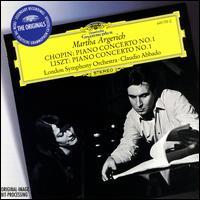 Chopin: Piano Concerto No. 1; Liszt: Piano Concerto No. 1 - Martha Argerich (piano); London Symphony Orchestra; Claudio Abbado (conductor)