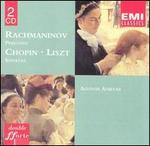 Chopin: Sonata in B; Rachmaninov: Polka on a Theme by WR; Preludes; 3 Nocturnes; Liszt: Sonata in B