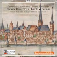 Chorale Concertos & Chorale Variations - Hamburger Ratsmusik; Michael Fuerst (harpsichord); Michael Fuerst (organ); Simone Eckert (bass viol);...
