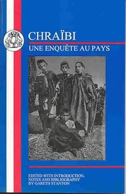 Chraibi: L'Enquete Au Pays - Chraibi, Driss