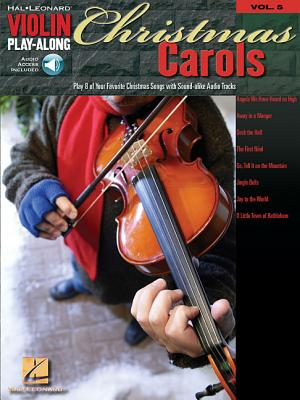 Christmas Carols: Violin Play-Along Volume 5 - Hal Leonard Corp (Creator)