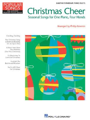 Christmas Cheer: Popular Songs Series 1 Piano, 4 Hands - Keveren, Phillip