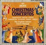 Christmas Concertos - Jaap ter Linden (cello); Mark Bennett (trumpet); Micaela Comberti (violin); Michael Harrison (trumpet); Simon Standage (violin); Trevor Pinnock (organ); Trevor Pinnock (harpsichord); English Consort; Trevor Pinnock (conductor)