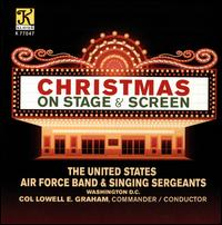 Christmas on Stage & Screen - Alex Helsabeck (vocals); Angela Burns (vocals); Brian Davis (vocals); Christine Adamick (vocals); David L. Nokes (vocals); Donna Abraira (vocals); Nathan Sommers (vocals); Richard Pearson (vocals); Robin Askew (vocals); Russell Colleran (vocals)