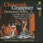Christoph Graupner: Orchestral Works, Vol. 3