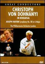 Christoph Von Dohnanyi: In Rehearsal