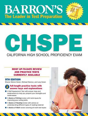 Chspe: California High School Proficiency Exam - Green, Sharon Weiner, and Siemon, Michael, and Green, Lexy