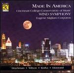 Cincinnati Wind Symphony plays Jacob Druckman, Dana Wilson, Robert Kurka & David Diamond