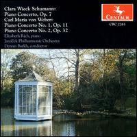 Clara Wieck Schumann, Carl Maria von Weber: Piano Concerto - Elizabeth Rich (piano); Janácek Philharmonic Orchestra; Dennis Burkh (conductor)
