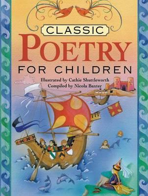 Classic Poetry for Children - Baxter, Nicola