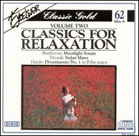 Classics for Relaxation, Vol. 2 - Dubravka Tomsic (piano); Hans Dieter Karras (organ); Harald Feller (organ); Hélène Gàl (piano); I Solisti di Zagreb; Josef Bulva (piano); Peter Maack (organ); Stuttgart Wind Quintet; Wolfgang Basch (trumpet); Wolfgang Rübsam (organ)