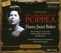 Claudio Monteverdi: The Coronation of Poppea - Anne Collins (mezzo-soprano); Anthony Davey (bass); Barbara Walker (soprano); Clifford Grant (bass);...