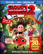 Cloudy With a Chance of Meatballs 2 [2 Discs] [Includes Digital Copy] [UltraViolet] [Blu-ray/DVD] - Cody Cameron; Kris Pearn