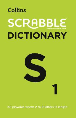 Collins Scrabble Dictionary: The Official Scrabble Solver - All Playable Words 2 - 9 Letters in Length - Collins Dictionaries