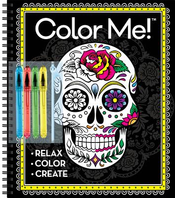 Color Me with 4 Gel Pen Cool - Publications International, Ltd (Editor)