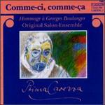 Comme-ci, Comme-ça, Hommage  Georges Boulanger