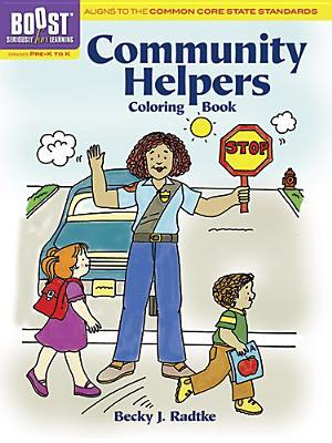 Community Helpers Coloring Book, Grades Pre-K to K - Radtke, Becky J