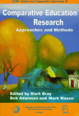 comparative education research approaches and methods pdf