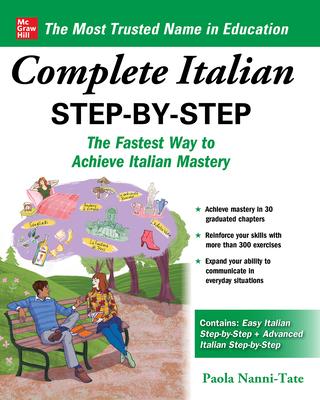Complete Italian Step-By-Step - Nanni-Tate, Paola