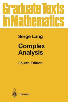 Complex Analysis - Lang, Serge