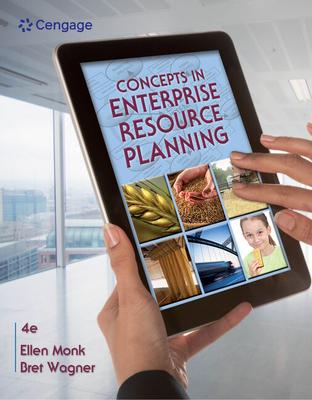 Concepts in Enterprise Resource Planning - Monk, Ellen