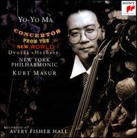 Concertos from the New World - Yo-Yo Ma (cello); New York Philharmonic; Kurt Masur (conductor)