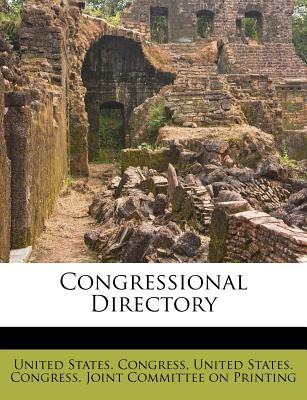 Congressional Directory - Congress, United States, Professor