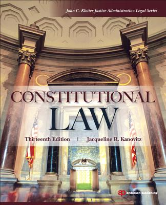 Constitutional Law - Kanovitz, Jacqueline