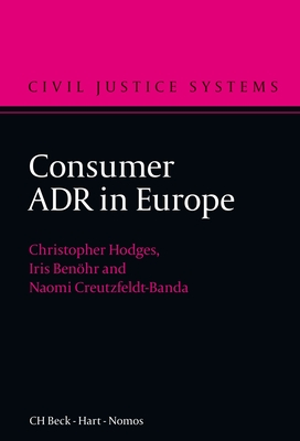 Consumer Adr in Europe - Hodges, Christopher J S