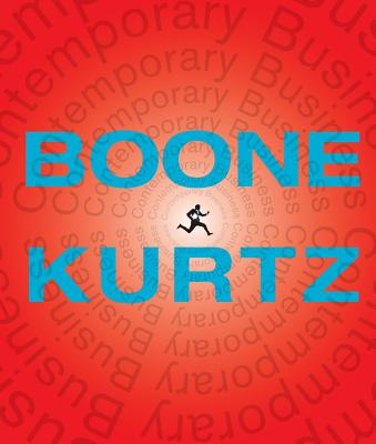 Contemporary Business - Boone, Louis E, and Kurtz, David L