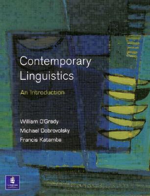 Amazon.com: Contemporary Linguistics by William O'grady