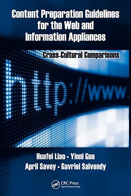 Content Preparation Guidelines for the Web and Information Appliances: Cross-Cultural Comparisons - Liao, Huafei, and Guo, Yinni, and Savoy, April