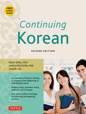 Continuing Korean book by Ross King, Jaehoon Yeon, Insun Lee | 1