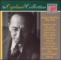 Copland orchestral ballet works 1936 1948 music by for Aaron copland el salon mexico score