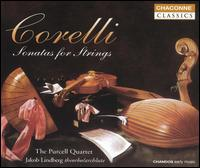 Corelli: Sonatas for Strings - Jakob Lindberg (theorbo); Jakob Lindberg (archlute); Purcell Quartet; Robert Woolley (organ)