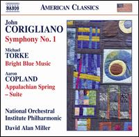 Corigliano: Symphony No. 1; Torke: Bright Blue Music; Copland: Appalachian Spring - National Orchestral Institute Philharmonic; David Alan Miller (conductor)