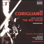 "Corigliano: Violin Concerto ""The Red Violin""; Phantasmagoria"