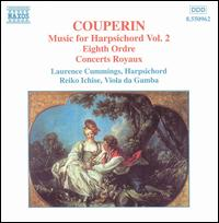 Couperin: Music for Harpsichord, Vol. 2 - Laurence Cummings (harpsichord); Reiko Ichise (viola da gamba)
