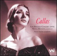 Los Angeles Concert (1958) - Maria Callas