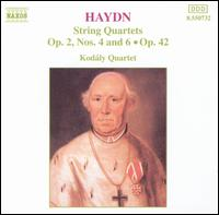 Haydn: String Quartets, Op. 2, Nos. 4 and 6, Op. 42 - Various Artists