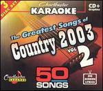 The Greatests Songs of Country 2003, Vol. 2