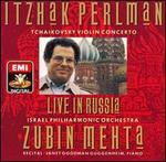 Itzhak Perlman-Tchaikovsky Violin Concerto ~ Live in Russia / Mehta